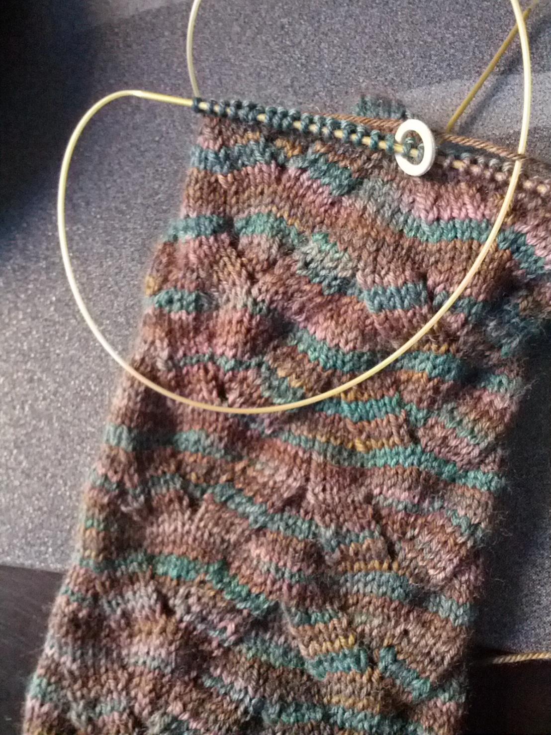 My yarn overs werebackwards!
