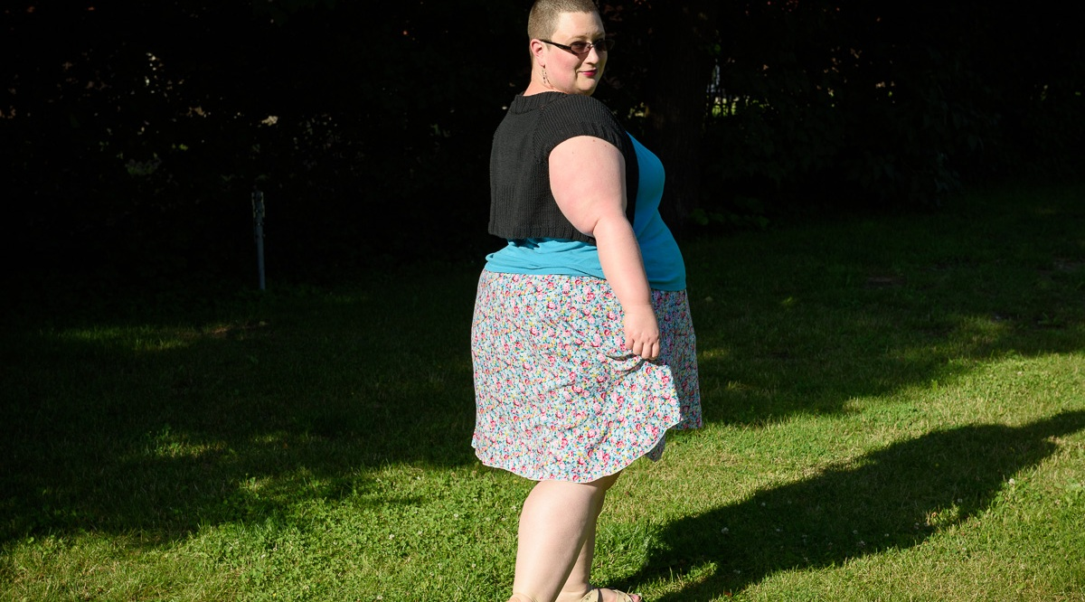Sewaholic Rae skirt in viscose