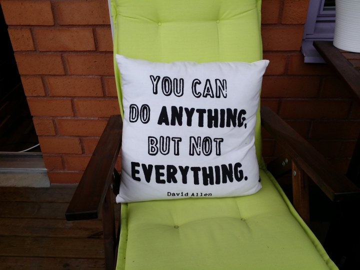 You can do anything pillow