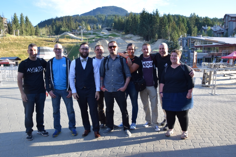 Team Serenity in Whistler 2016