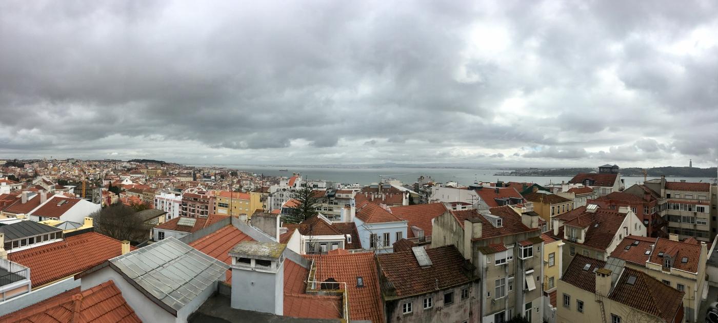 View over Lisbon, Julia Amosova